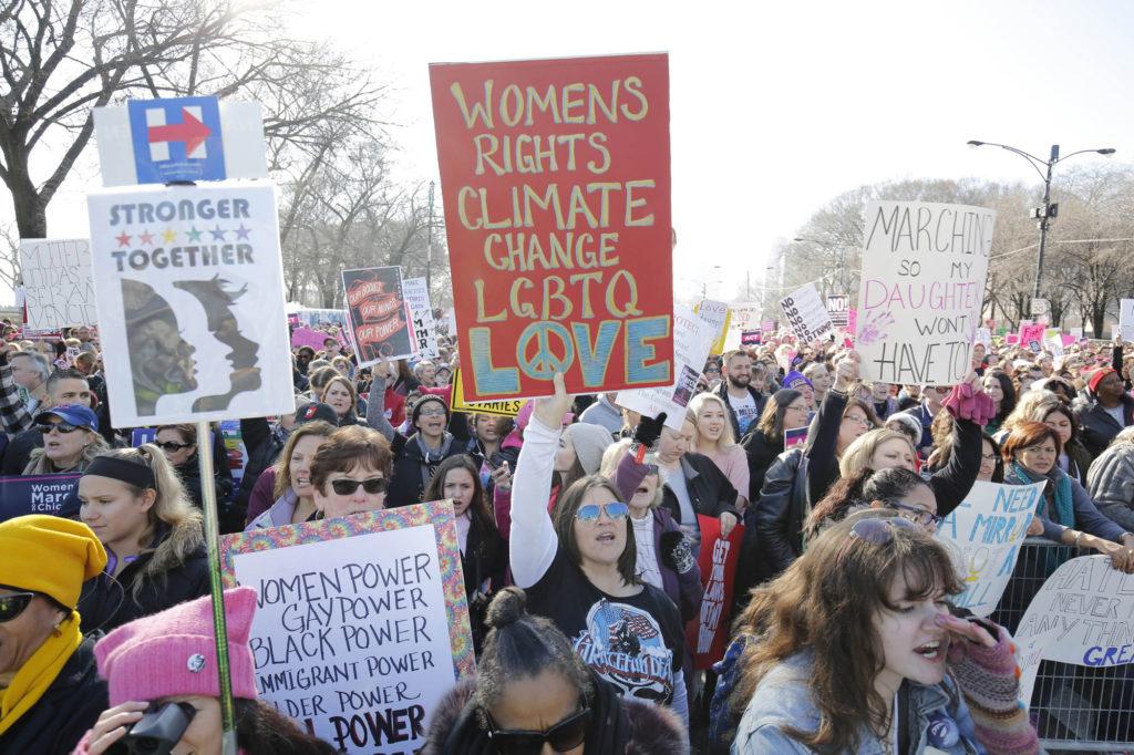 Women's March in Grant Park