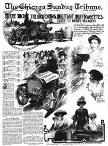 motoring militant suffragists auto tour
