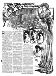 Four Girl Lobbyists Who Ran a Legislature, Article