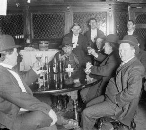 Saloon Image of Men
