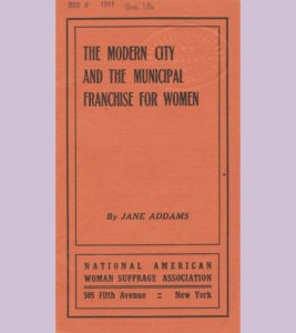 The Modern City and the Municipal Franchise for Women Cover
