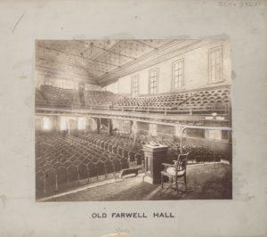 Old Farwell Hall, YMCA, Chicago, Illinois.